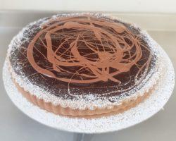 Chocolate and Chestnut tart