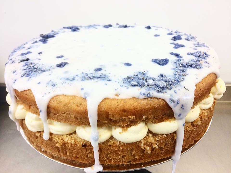 Rich Moist Fun Chocolate Cake With Fresh Vanilla Butter Cream