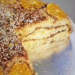 vegan candied orange cake