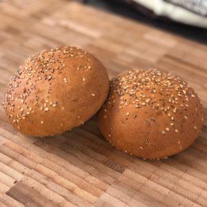 vegan brioche style rolls