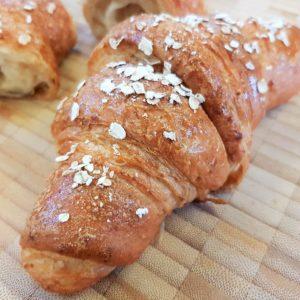 vegan  oat and bran croissant